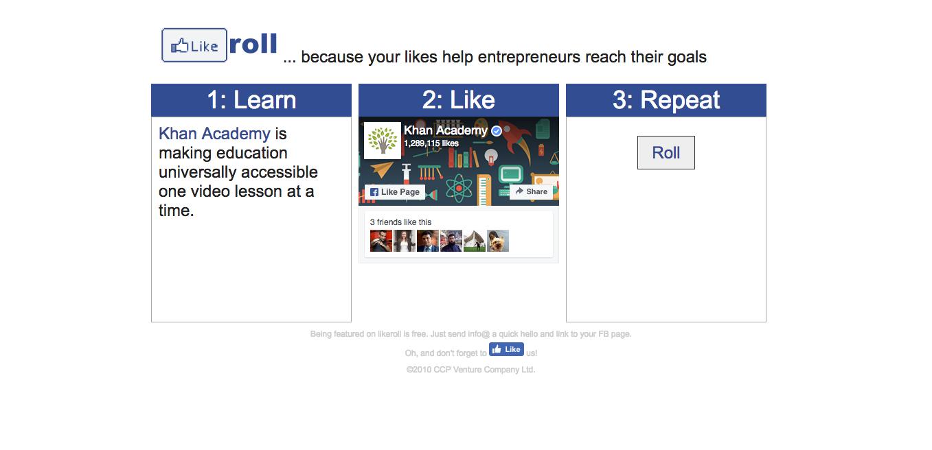 likeroll-everyone-can-help-entrepreneurs
